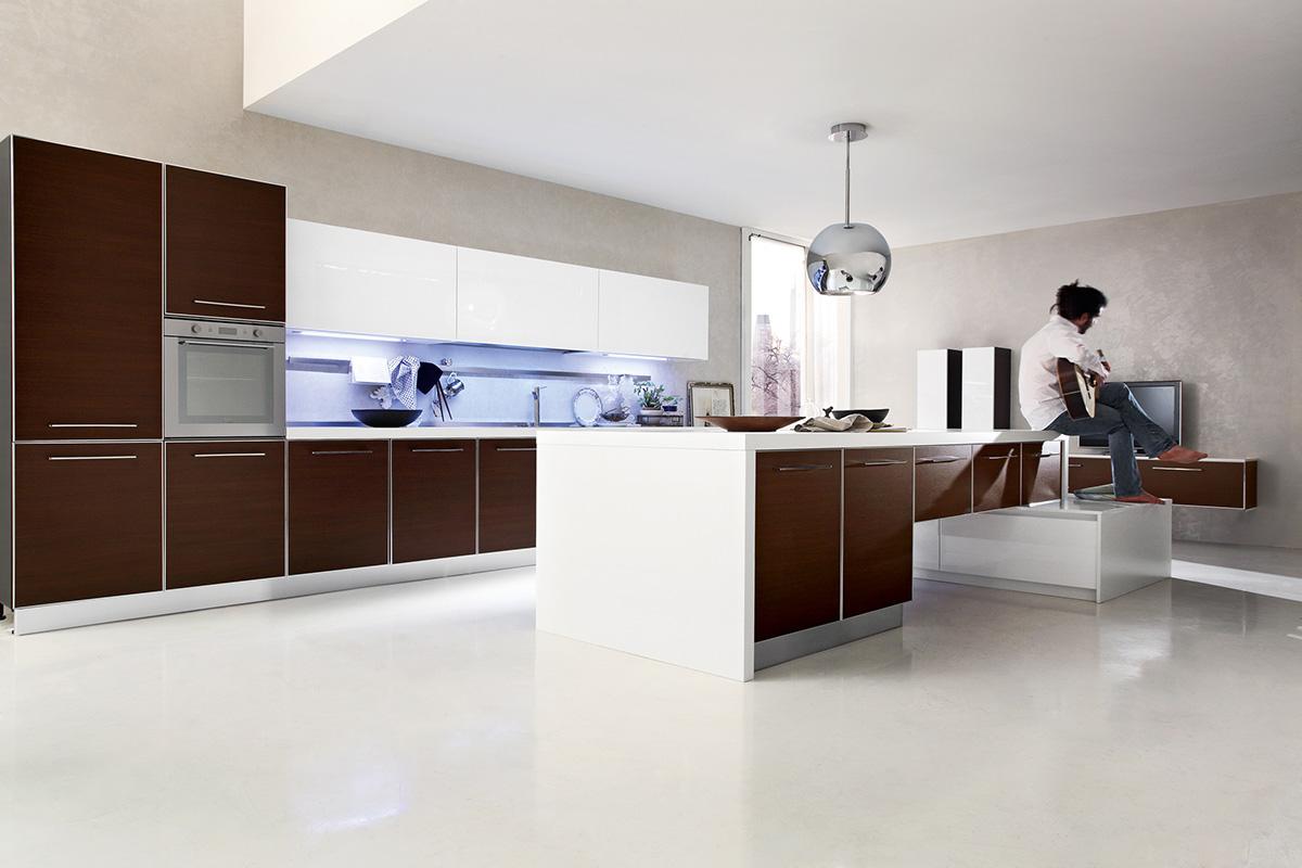 Ar-Tre | Sistema alluminio - Cucine con anta a telaio in alluminio.