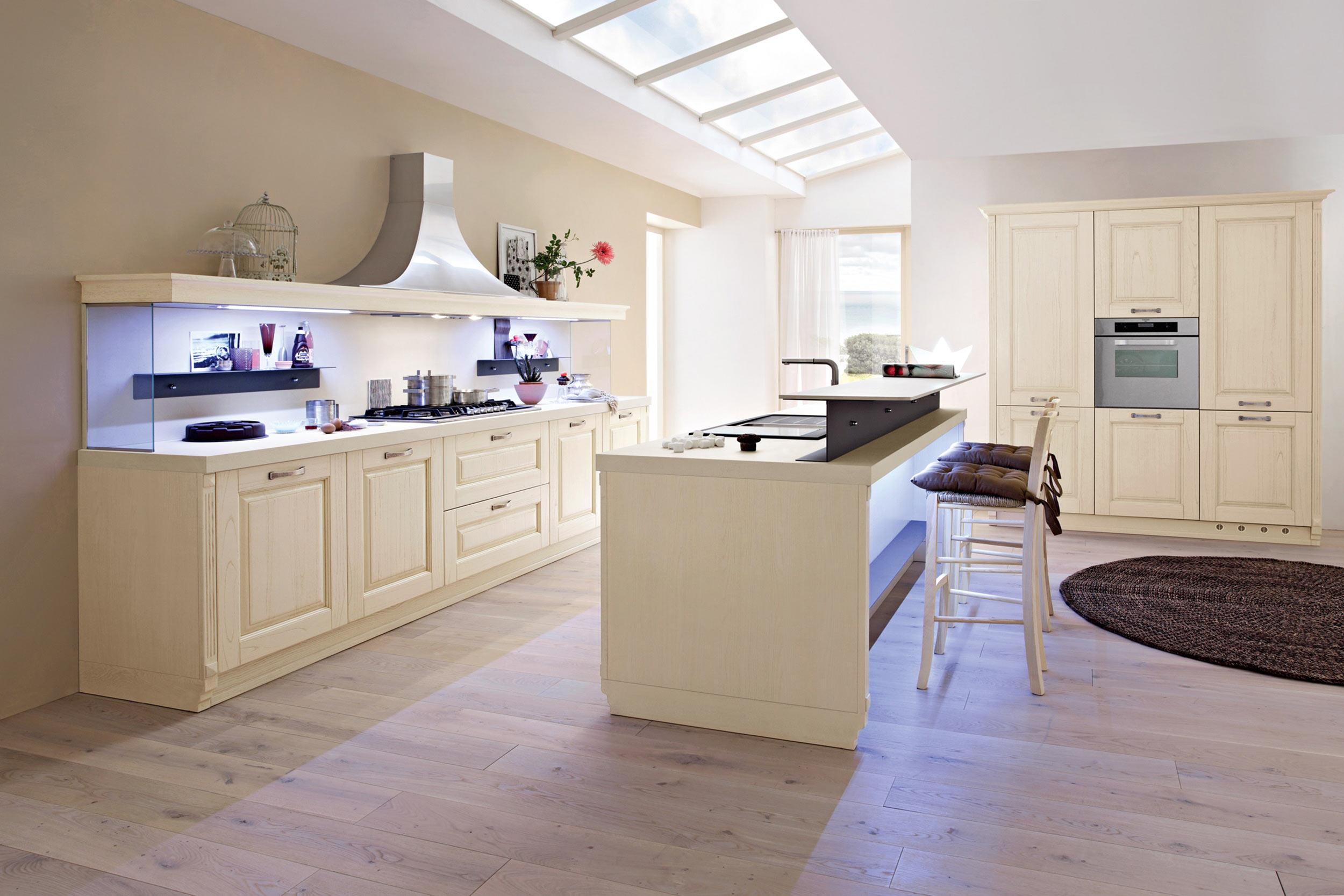 cucina classica bianca Greta