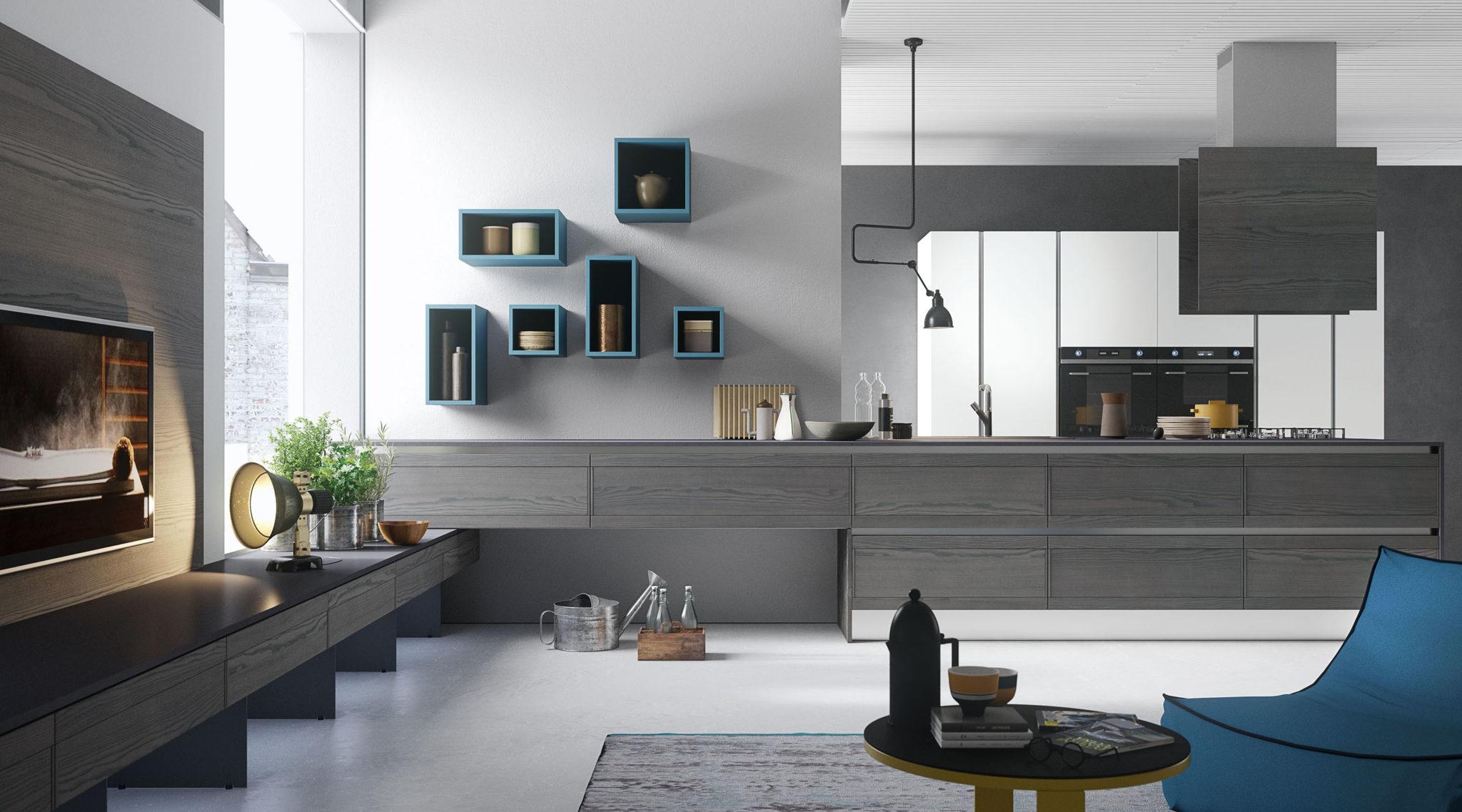 Cucine Componibili Design Moderno : Cucine a legna rizzoli prezzo ...