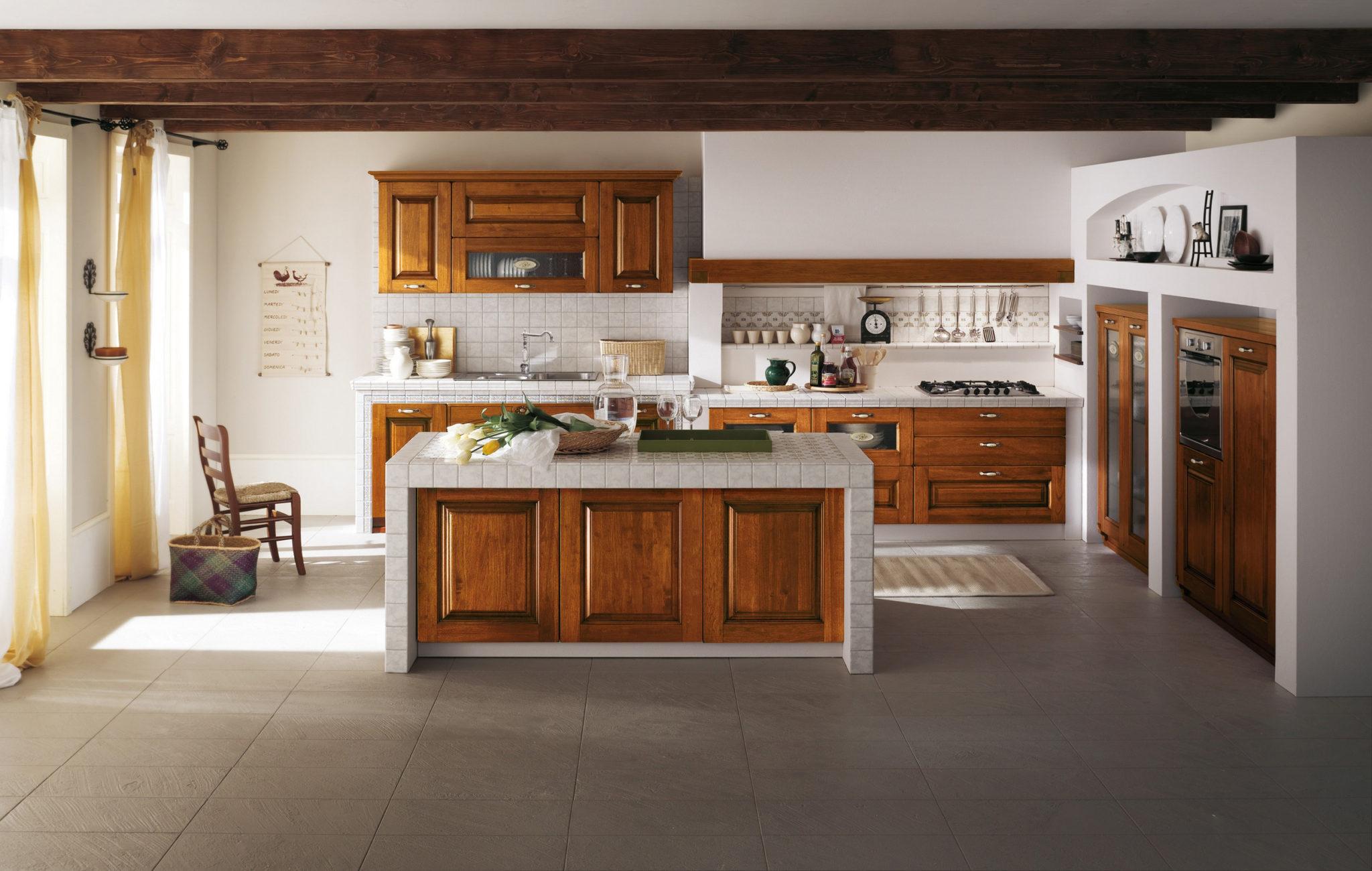 Cucine componibili classiche e moderne maiorani arredamenti - Aerre cucine classiche ...