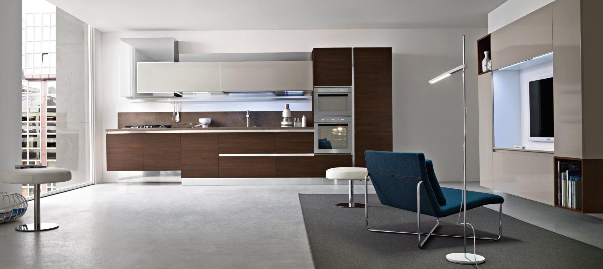 Cucine Moderne Lineare : Fly - Cucine moderne con estetica lineare.
