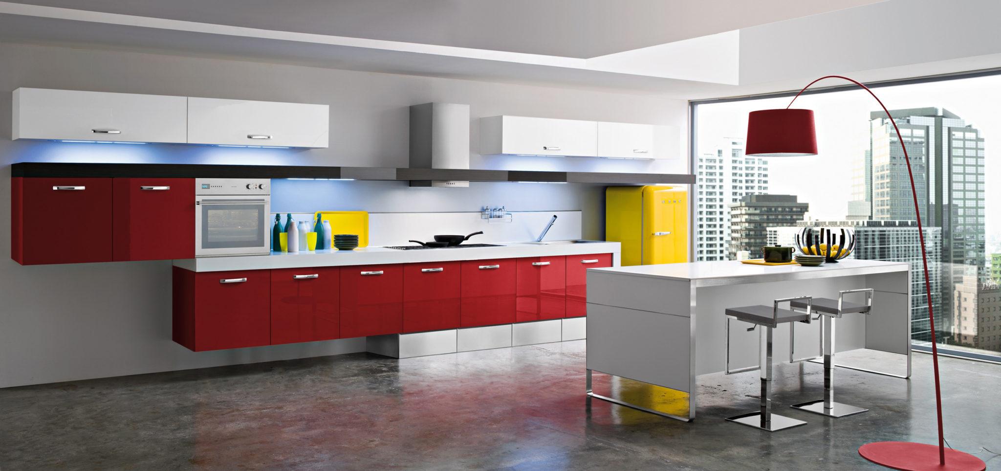 Cucine Moderne Lineare ~ Trova le Migliori idee per Mobili e Interni di Design